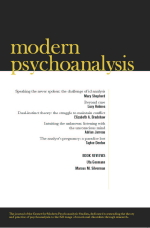 Modern Psychoanalysis, the journal of CMPS